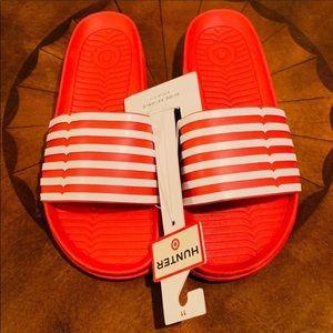 15c4cfbd8e7d Hunter slide sandals. Hunter slide sandals.  15  25. Hunter by Target  sandals size 6